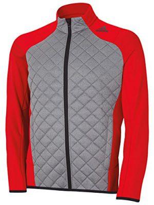 Adidas-Golf-2015-Mens-Climaheat-Concept-Fill-Jacket-Power-RedDark-Grey-XXL-0