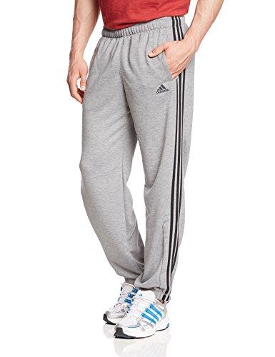 Adidas Men S Essentials 3 Stripes Closed Hem French Terry