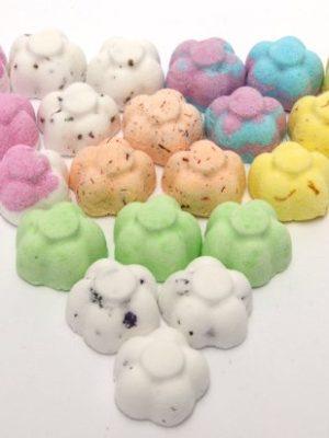 Bee Beautiful 30 X 10g Mixed Scents Mini Flower Bath Bombs U2013 Mix 1