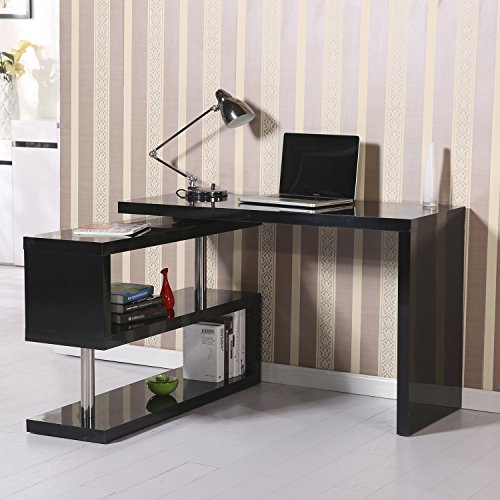 photographs homcom wall desk modern mount glamorous office mounted floating computer awesome