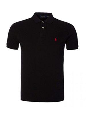 Mens-Ralph-Lauren-polo-shirt-Custom-Fir-Size-S-to-XL-Large-Black-0