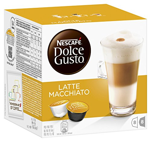 Nescaf 233 Dolce Gusto Latte Machiato 16 Capsules Pack Of 3