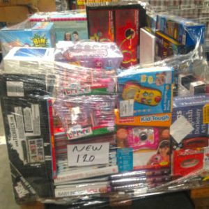 Pallet of Grade A Ex Catalogue Toys