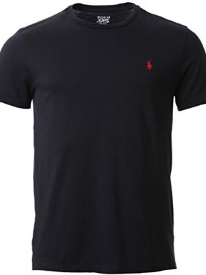 Polo-Ralph-Lauren-Mens-Black-Crew-Neck-T-Shirt-Medium-0