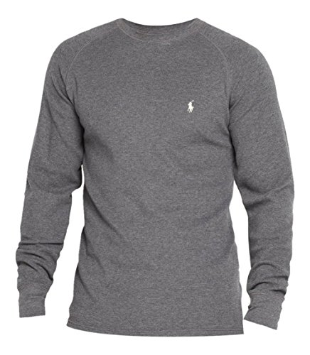 624029f8 Polo Ralph Lauren Mens / Boys Long Sleeve Waffle Knit Thermal T ...
