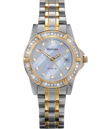 Sekonda Ladies Twilight Pearl 4174 Stone Set Dress Watch