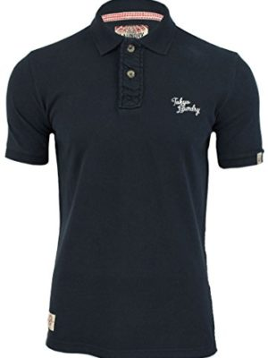 TOKYO-LAUNDRY-SOPHOMORE-MENS-COTTON-BUTTON-UP-CASUAL-POLO-T-SHIRT-TOP-1X3523A-Dark-Navy-L-0