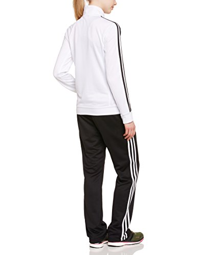 Adidas Ess 3s Suit Clothing Women S Tracksuit White Top