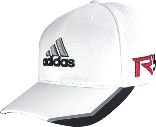 adidas Golf 2015 Tour Mesh Golf Cap Hat – TaylorMade – R15 – FlexFit  (White Black 9eaa607ebb7