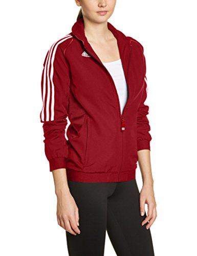 Women's Jacket s Team Red T12 Adidas Size sdrChQtx