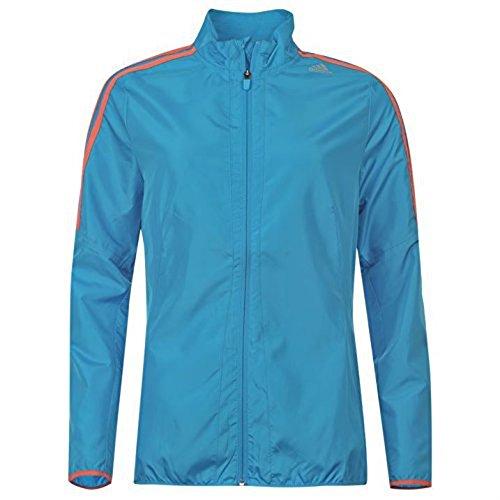 adidas-Womens-Response-Long-Sleeves-Zip-Fastening-Sport-Top-Jacket-Ladies-Blue-10-S-0