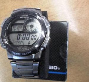 Casio-Illuminator-Digital-Watch-Police-Auction