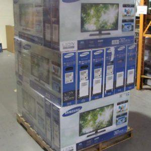 Pallet-of-Liquidation-Samsung-TVs