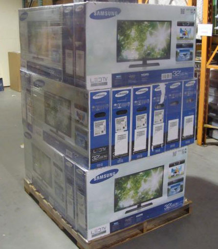 Pallet-of-Liquidation-Samsung-TVs