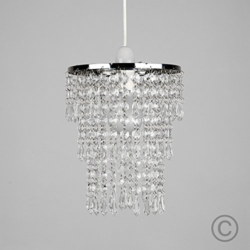 Beautiful modern chrome chandelier pendant shade with stunning clear beautiful modern chrome chandelier pendant shade with stunning aloadofball Choice Image